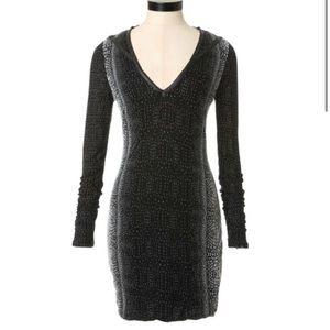 NWOT Guess Crocodile Stud Bodycon Dress